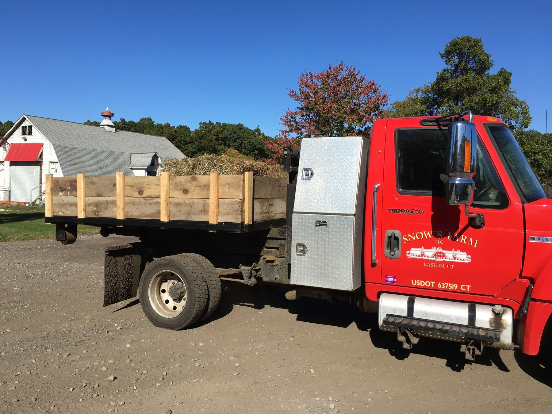 Delivery Truck #1 - This truck can hold a maximum of 5 cu yd
