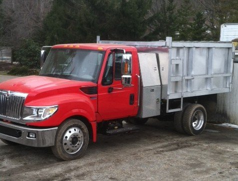 Delivery Truck #2 - This truck can hold a maximum of 10 cu yd